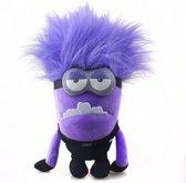 Verschrikkelijke Ikke Despicable Me Pluche Knuffel - Paarse Evil Minion Kevin 30cm