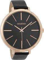 OOZOO Timepieces Zwart horloge  (48 mm) - Zwart