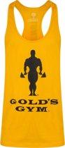 SLOGAN PREMIUM STRINGER VEST  GOLD - L
