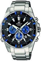 Casio Edifice EFR-534D-1A2VEF - Horloge - Staal - Zilverkleurig - 46 mm