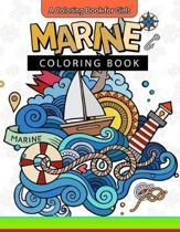 Marine Coloring Book