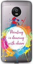 Motorola Moto G5 Plus hoesje Painting