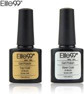 Elite 99 - Base & Top coat nagellak set - Gel nagellak - UV