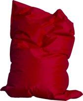 Drop & sit zitzak - Rood - 100 x 150 cm - binnen en buiten