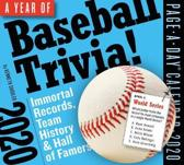 2020 a Year of Baseball Trivia! Page-A-Day Calendar
