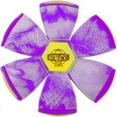 Wahu Phlat Ball Swirl Junior Paars 15 Cm