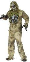 Skelet Zombie - Kostuum - Horror - One Size
