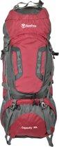 Beefree 80 Liter nylon Backpack - Rood