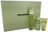 Perry Ellis Reserve Gift Set 100 ml Eau De Parfum Spray+ 10 ml Mini EDP Spray + 120 ml Body Mist Spray + 60 ml Hand Cream