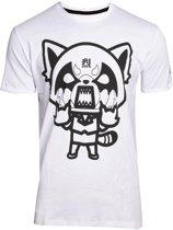 Aggretsuko Heren Tshirt -2XL- I Wanna Eat Wit