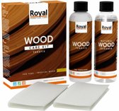 Wood Furniture Care | Teakfix Wood Care Kit + Cleaner | 2 x 250 ml | Voor onbehandeld hout