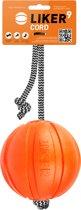 Liker Cord 9 cm - Lichtgewicht bal met koord - Tand vriendelijk materiaal
