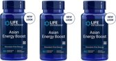 Asian Energy Boost, 90 Vegetarian Capsules, 3-pack