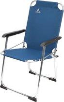 Camp Gear - Klapstoel 600D - Aluminium Blauw