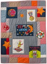 Quilt 160x220 fly me to the moon borduur
