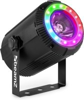 LED beam spot lichteffect - BeamZ PS40 LED spot met LED ring en 40W LED voor kleurrijke effecten