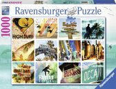 Ravensburger Surfin´USA - Legpuzzel - 1000 Stukjes