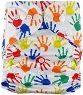 Pocketluier - Gekleurde handjes
