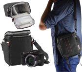 Navitech Zwart digitale camera draagtas en reistas voor de Kodak PixPro AZ401