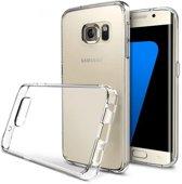 SMH Royal - Ultradun Siliconen hoesje geschikt voor Samsung Galaxy S7 Edge Transparant