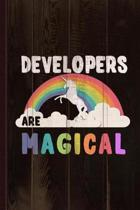 Developers Are Magical Journal Notebook