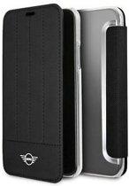 MINI Boekmodel Hoesje iPhone XS / X - Zwart