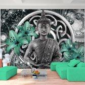Foto Vliesbehang Muurposter Boeddha B 308x220 cm
