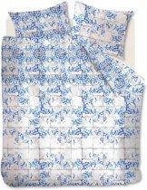 At Home Onetime - Dekbedovertrek - Lits-jumeaux - 240x200/220 cm - Blauw