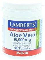 Lamberts Aloe Vera 10000Mg /L8570 Tabletten 90 st