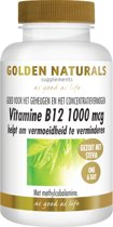 Golden Naturals Vitamine B12 Methylcobalamine (100 tabl.)