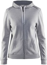 Craft In-The-Zone Full Zip Hood women grey m