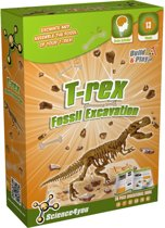 Science 4 You T-Rex Fossil Excavation - Experimenteerset