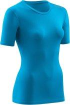 CEP wingtech shirt, short sleeve, electric blue/green, women, S