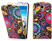 Meteor Print Flip case oesje Samsung Galaxy S4