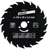 Wolfcraft Cirkelzaagblad 180mm
