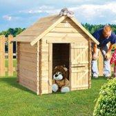 Lois houten speelhuis blokhut
