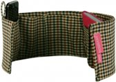 Purseket ® - tasorganizer - Medium - Glen Check
