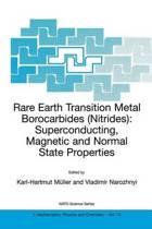 Rare Earth Transition Metal Borocarbides (Nitrides)