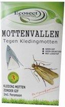 Ecosect monitorings kledingmotten mottenval