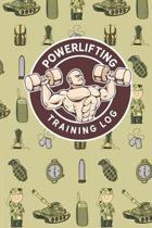 Powerlifting Training Log