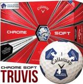 Callaway Chrome Soft Truvis ballen (dozijn) - European tour Special Edition