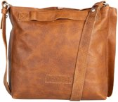 Shabbies Schoudertas Shoulderbag Small Grain Leather Bruin