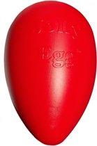 Jolly Egg - Hondenspeelgoed - 30 cm - Rood