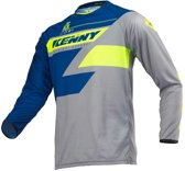 Kenny Crossshirt Track Navy/Lime-S