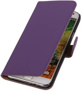 Wicked Narwal | bookstyle / book case/ wallet case Hoes voor Samsung Galaxy E7 Paars