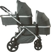 Titaniumbaby Beeyu Orion Duo Kinderwagen - Melange