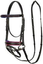 Harry's Horse Hoofdstel STOUT! black mini Zwart