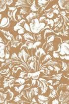 Floral Poppy Design Kraft Journal