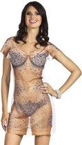 3 stuks: Fotorealistische jurk - Bijou - Medium
