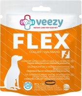 Veezy Flex Collar - Hondengewrichten - Zwart - Medium/Large